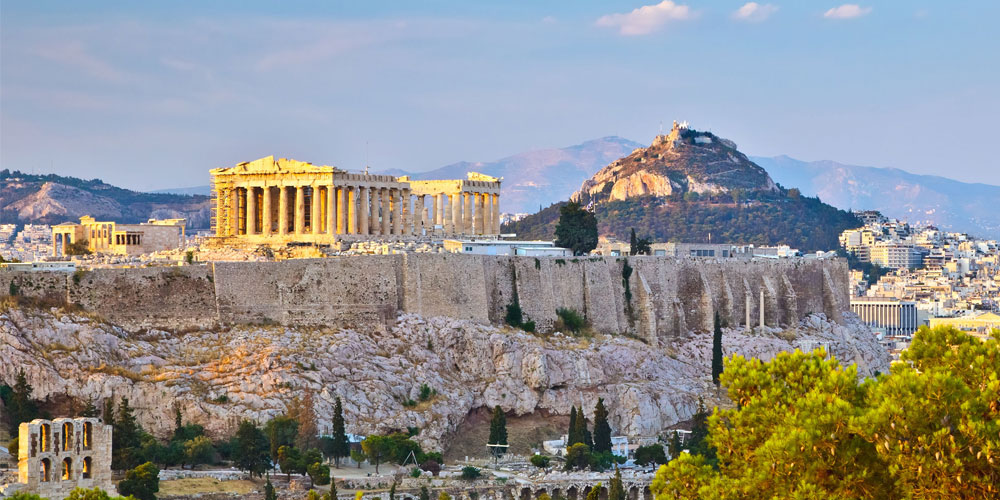 Athens - start your trip to paradise here